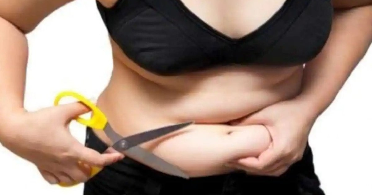 To lose belly fat