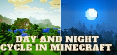 Day and night cycle in Minecraft
