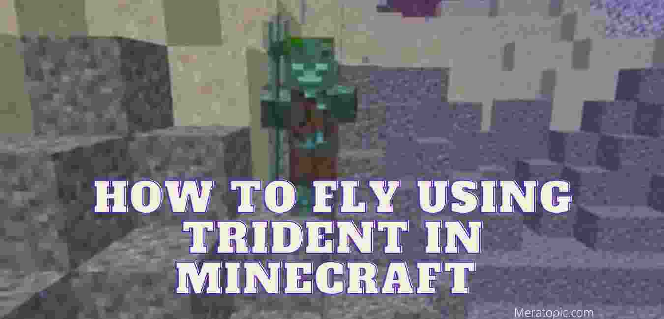 Fly using trident