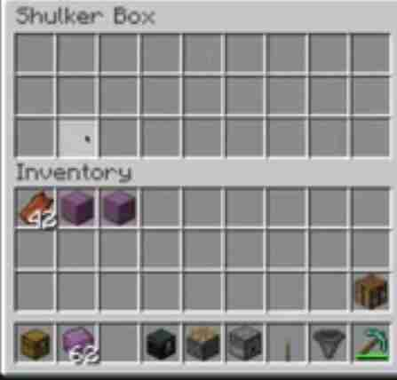 shulker boxes in Minecraft